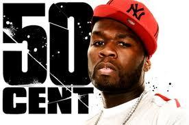 Star du hip hop 50 Cent